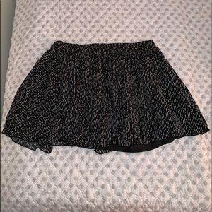 Black and White dainty skirt